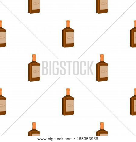 Alcohol icon cartoon. Singe western icon from the wild west cartoon. - stock vector