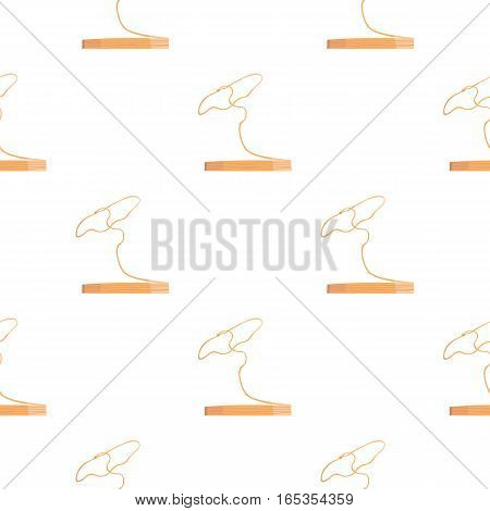 Lasso icon cartoon. Singe western icon from the wild west cartoon. - stock vector