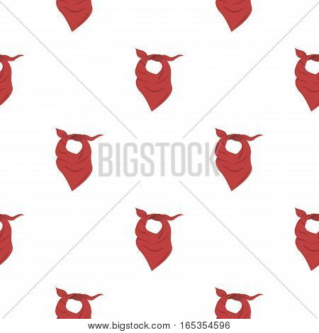 Cowboy scarf icon cartoon. Singe western icon from the wild west cartoon. - stock vector