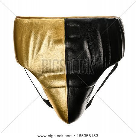 Abdominal Leather Groin Midsection Protector For Boxing.