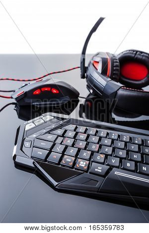 Black Gaming Gear