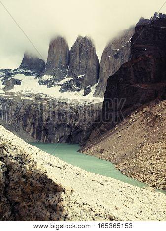 Toores del Paine Chile lugar vacaciones naturaleza
