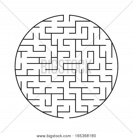 Vector labyrinth 59. Maze / Labyrinth with entry and exit.