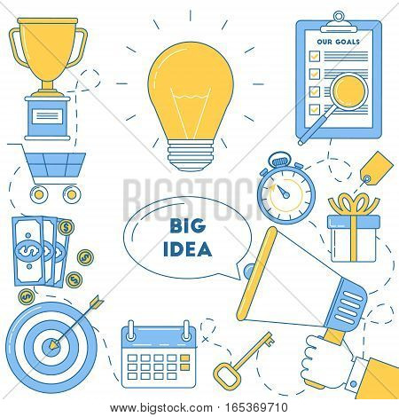 Big Idea Illustrtion.