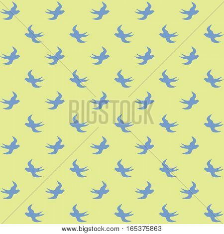 Bright vector vintage background with seamless pattern