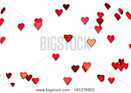 clipping path bokeh effect saint valentine's day hearts