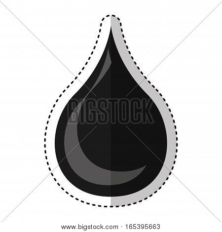 oil drop isolated icon vector illustration design