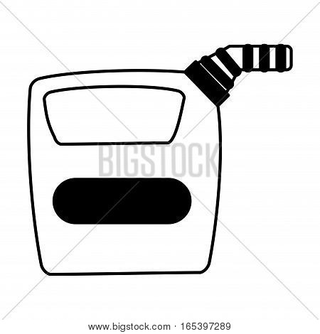 gallon tank isolated icon vector illustration design