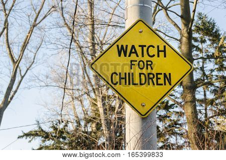 The sign for parents