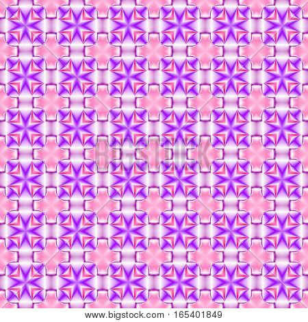 Abstract violet tile pattern.  Purple texture background. Seamless illustration.