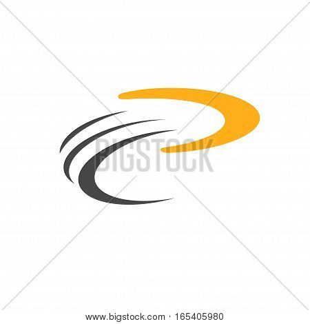 Boomerang icon. Logo. Isolated Vector illustration art