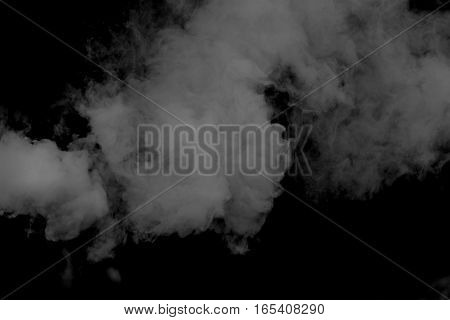 Smoke isolated on background ,Smoke or fog.