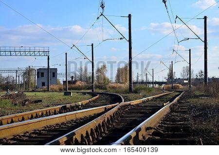 Empty Railroad Track