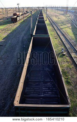 Sunny Railway Landscape