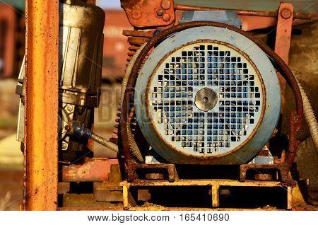 Ventilation Mechanism From The Crane