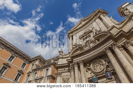 San Marcello Al Corso Church In Rome