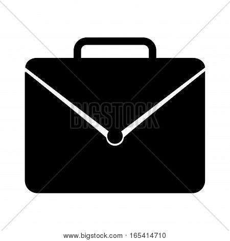 portfolio briefcase isolated icon vector illustration design