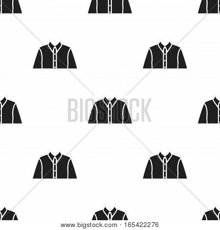 Long sleeve shirt icon of vector illustration for web and mobile design