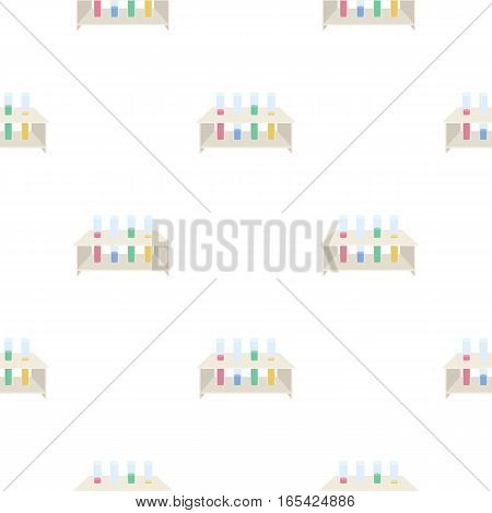Tubes icon cartoon. Single medicine icon from the big medical, healthcare cartoon. - stock vector