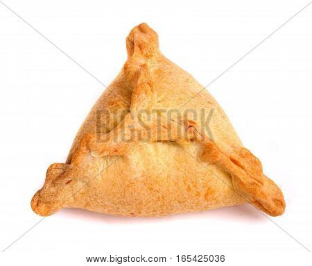 One Triangle echpochmak isolated over white background