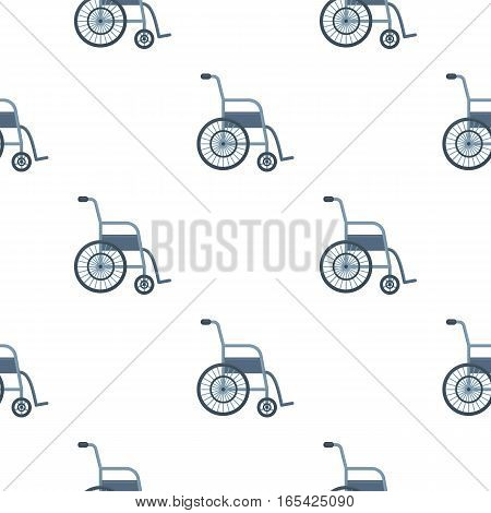 Wheelchair icon cartoon. Single medicine icon from the big medical, healthcare cartoon. - stock vector