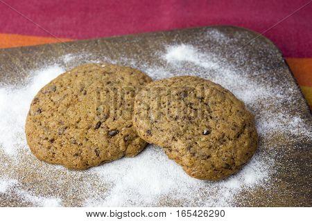 Homemade Chocolate Cookies