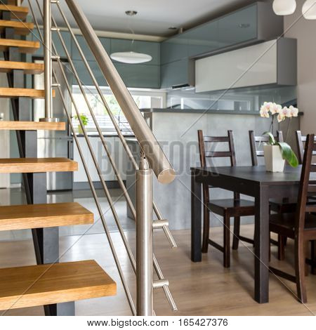 Stylish Interior With Stairs