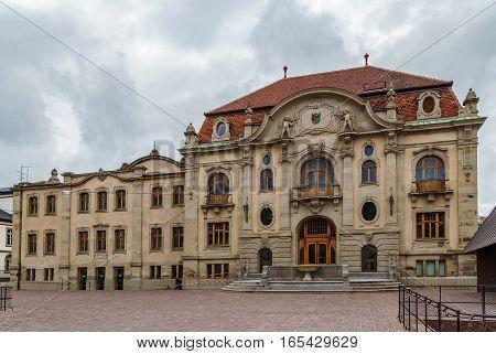Building of former public baths in Colmar Alsace France