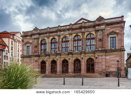 Municipal Theatre of Colmar France The building was constructed between 1847 and 1849