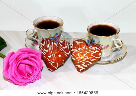 Coffee. Coffee drink with your loved one in the morning is very nice. The natural conversation smile - that's what you need for a complete human happiness.