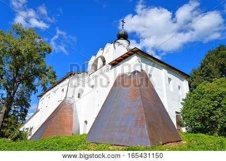 Church in Kirillo-Belozersky monastery near City Kirillov Vologda region Russia.