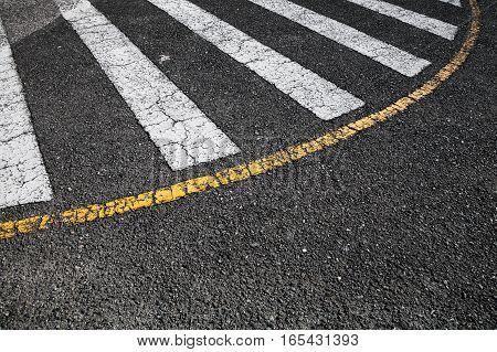 Pedestrian Crossing Road Marking Zebra