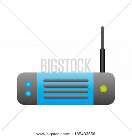 wireless router isolated icon vector illustration design