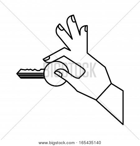 security key isolated icon vector illustration design