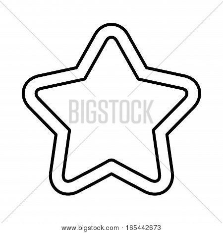 game star isolated icon vector illustration design