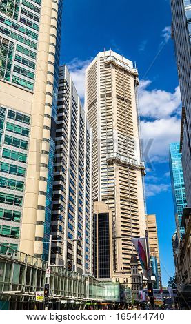 Street in the Sydney central business district - Australia, New South Wales
