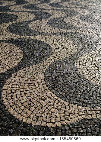 Pedro Iv Square Lisbon City Square Pattern