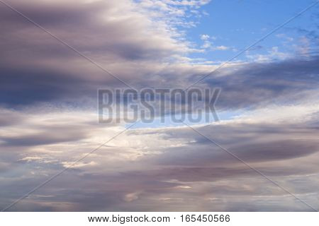 Clouds Background 8266