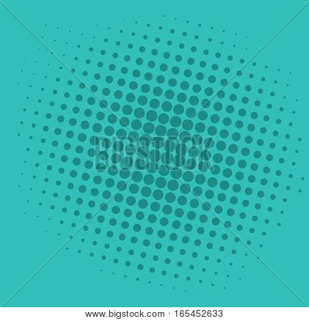 Tosca Green Pop Art Comic Background Pattern Illustration Vector