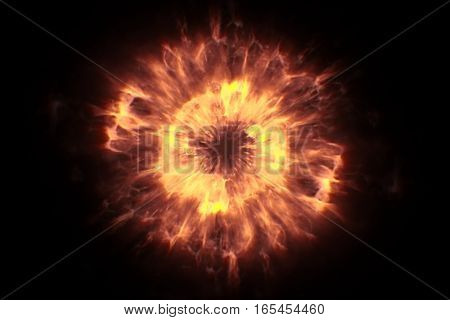 Gold Glow Glittering Particles Bokeh Transition Sparkle Explosion Effect On Black Background, Holida