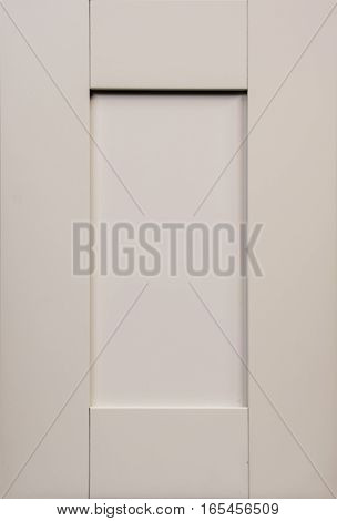 Modern Wooden Contemporary Kitchen Door Made of Maple, Cherry, Oak Birch. Background White.