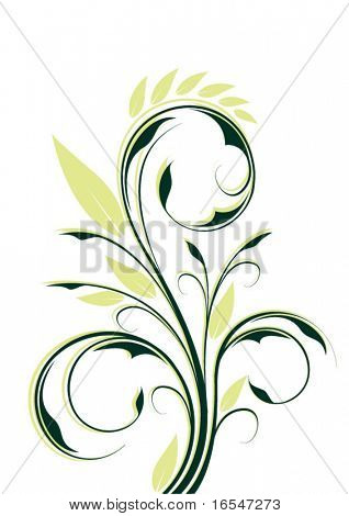abstract vector element