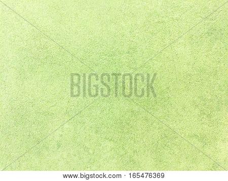 Green Concrete floor . old cement texture.