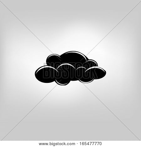 vector icon weather cloud nature illustration on background