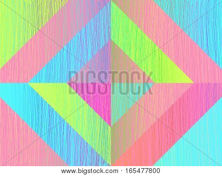 Doodle Background Scribble Sketch Template Triangles Light