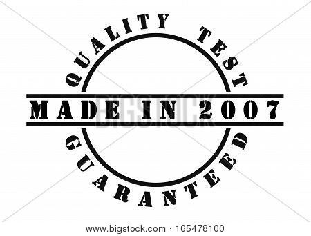 Made In 2007