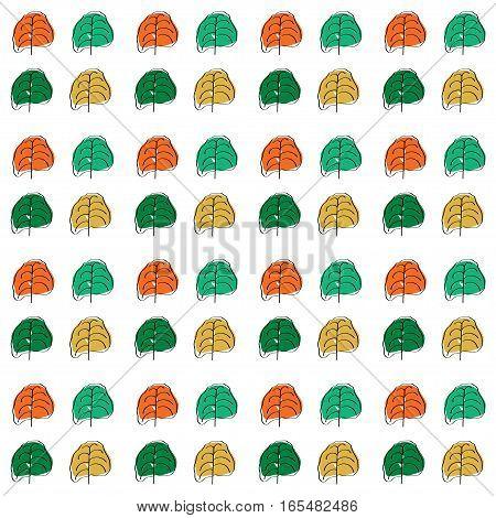 seamless floral pattern, vintage backgrounds. Vector illustration