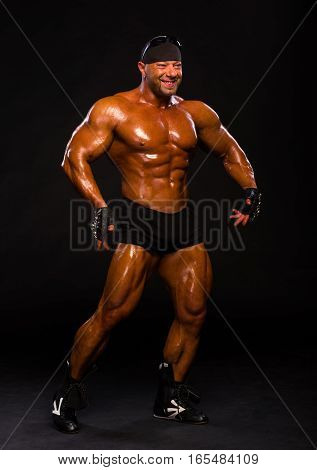 Handsome Muscular Bodybuilder