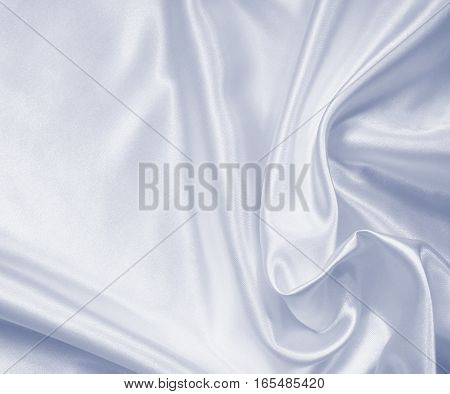 Smooth Elegant Grey Silk Or Satin As Wedding Background