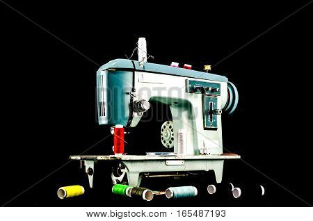 Old Vintage Sewing Machine